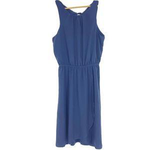 Athleta Dress Martinique Tassel Sleeveless Wrap